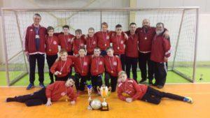 Vítězné družstvo kategorie U13